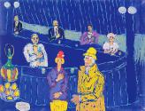 Fikret Mualla 24, Mavi Bar, 1960