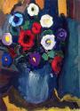 Fikret Mualla Vazoda Çiçekler
