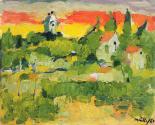 Fikret Mualla Auvers-sur-Oise, 1949