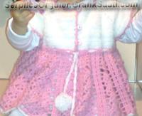 Serpilile Serpilce örgüler örgü Tığ işi çocuk elbisesi modelleri