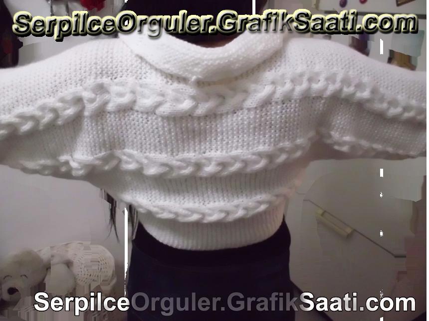 Serpilce.ile Serpilce örgüler Resimli bolero kazak örgü tasarımları