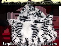 Serpilile Serpilce örgüler örgü kadın çantası modelleri