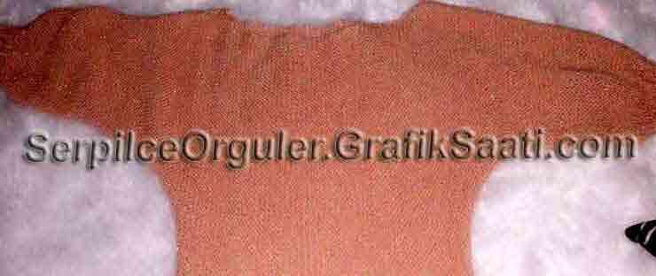 Serpilce.ile Serpilce örgüler örgü modelleri örnekleri modelli örgüler Çekilişte neler var - somon rengi reklam kollu bayan kazağı