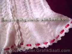 Serpilce.ile Serpilce örgüler örgü modelleri örnekleriel örgüsü kurdelalı kazak