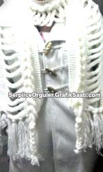 Serpilce.ile Serpilce örgüler kuğulu örgüden kafesli atkı ve bandana